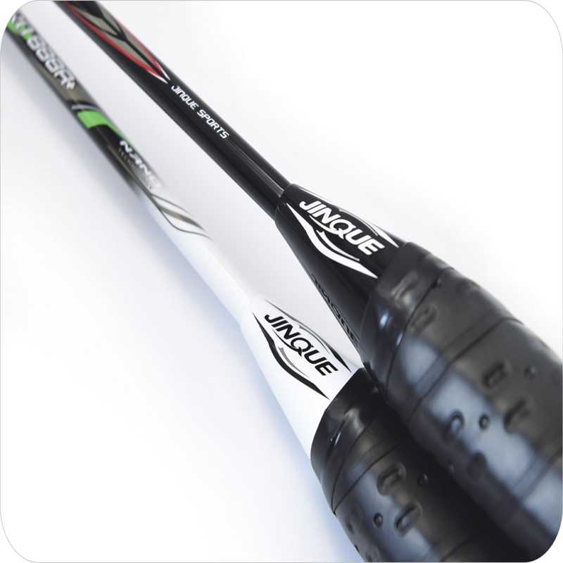 Carbon Fiber with Woven Knitted Badminton Racket
