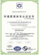 Environment Management System Approved Certificate